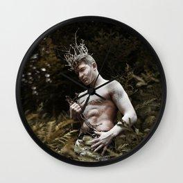 Gardien de la Forêt Wall Clock