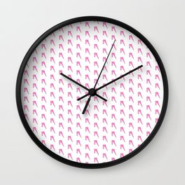 A to Z(iggy) pattern Wall Clock