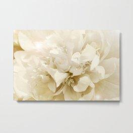 Silky Petals Metal Print