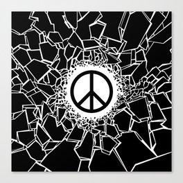 Peacebreaker Canvas Print