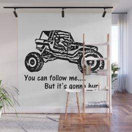 Follow Me Wall Mural
