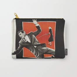 Vintage Classic Movie Posters, North by Northwest Carry-All Pouch