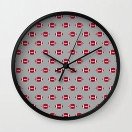 Alabama football university of alabama crimson tide college football gifts Wall Clock