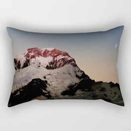 Sunrise over Aoraki / Mount Cook. Rectangular Pillow