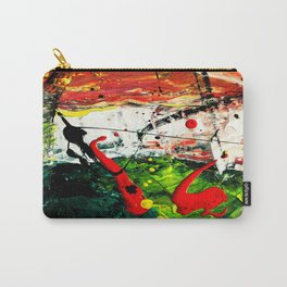 Vectorised Abstract art Carry-All Pouch