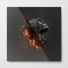 XTINCT x Monkey Metal Print