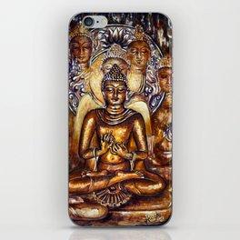 Gold Buddha iPhone Skin