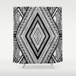 The Triangle Shower Curtain