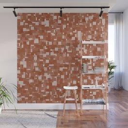 Potter's Clay Pixels Wall Mural
