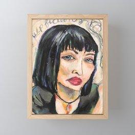 Pulp Framed Mini Art Print
