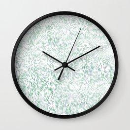 Grass Landscape Pattern 002 Wall Clock