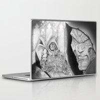 doom Laptop & iPad Skins featuring Doom! by GraphixRob Studios