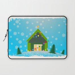 christmas house Laptop Sleeve