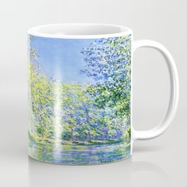 Monet: Bend in the River Ept Coffee Mug