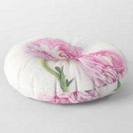 Pink Peonies 2 Floor Pillow