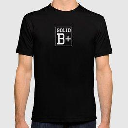 """Solid B+"" T-shirt"