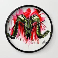 Treachery Wall Clock