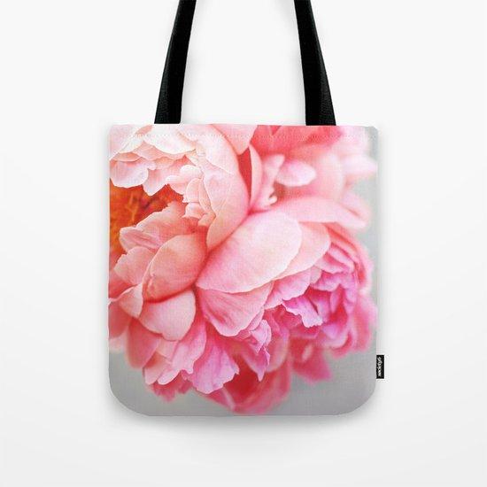 Peonies Forever Tote Bag