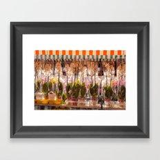 Flower market in Nice 5915 Framed Art Print