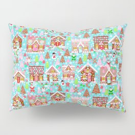 Gingerbread House Christmas Winter Candy, sweets.christmas gift, holiday gift for kids of all ages, Pillow Sham