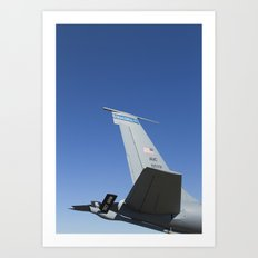 KC135 KC-135 Military Refueling Airplane/Aircraft USAF Art Print