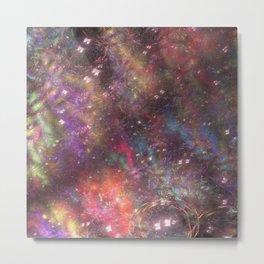 fractal: aurora borealis Metal Print