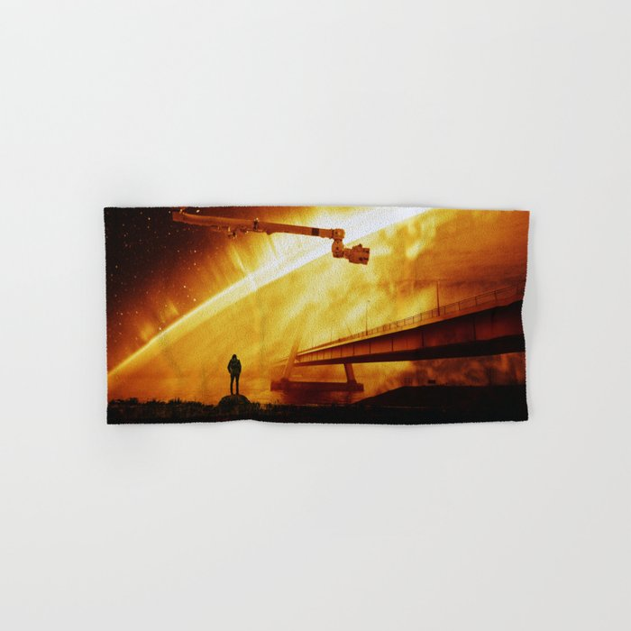 Red Sun Chronicle Hand & Bath Towel
