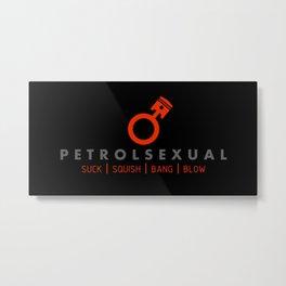 PETROLSEXUAL v2 HQvector Metal Print
