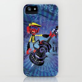 Münxis - Bass. The Twitch Doctors. iPhone Case