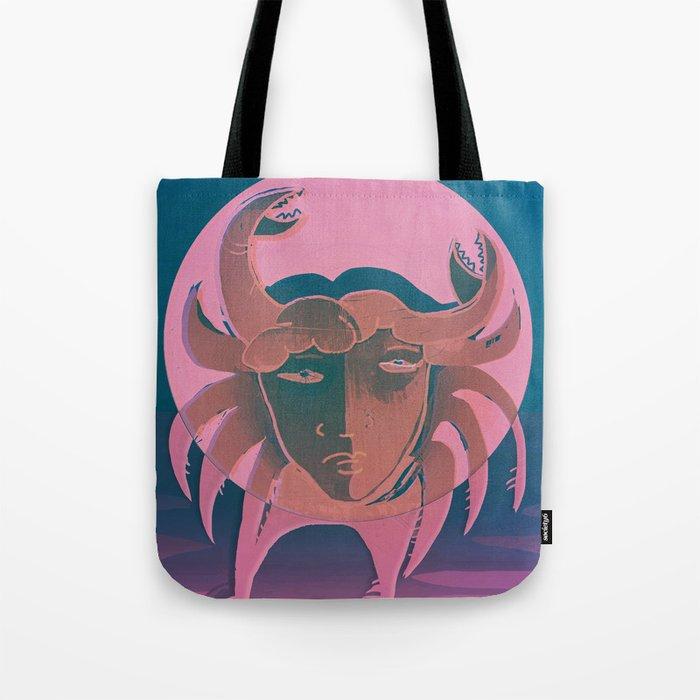 The Crab Tote Bag