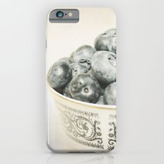 Blueberry Bowl iPhone 6s Slim Case