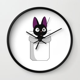 Pocket Jiji! Wall Clock