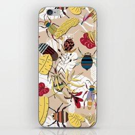 jungle bugs iPhone Skin