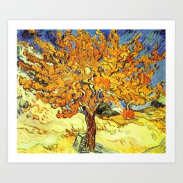 Vincent van Gogh, The Mulberry Tree.  Art Print