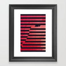 slyg stryyp Framed Art Print