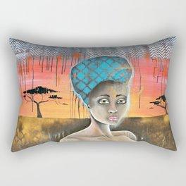 AFRICAN SUNSET Rectangular Pillow