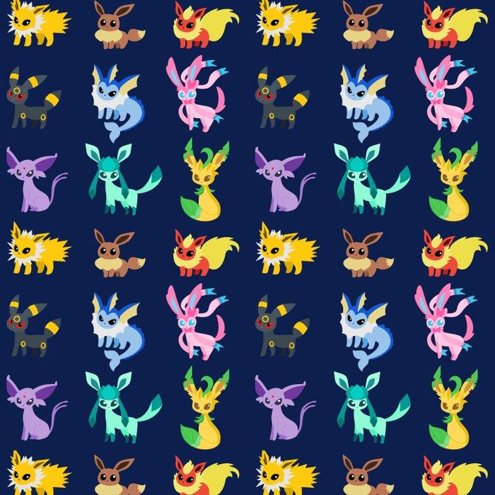Eevee Evolutions Comforters By Wss3thepaintproject