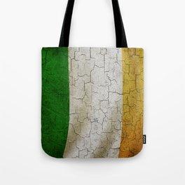 Vintage Ireland flag Tote Bag