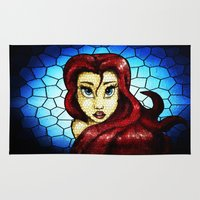 ariel Area & Throw Rugs featuring Ariel.... by Emiliano Morciano (Ateyo)