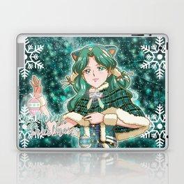 Merry Xmas Michiru! Laptop & iPad Skin