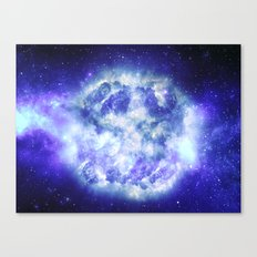 Unseen Detonation Canvas Print
