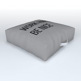 The Motivational Quote II Outdoor Floor Cushion