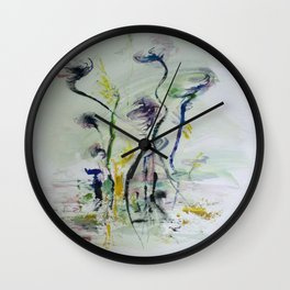 happily twisted Wall Clock