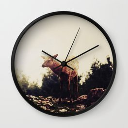 Elk Land Wall Clock