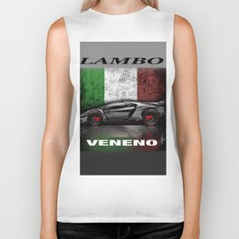 Lambosupercar - Veneno Biker Tank