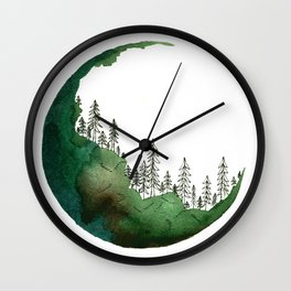 EcoForest Wall Clock