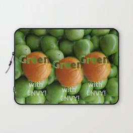 GREEN APPLE Laptop Sleeve
