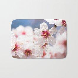 Blossom of the almond tree Bath Mat