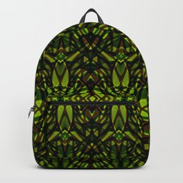 Fractal Art Stained Glass G313 Backpack
