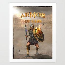 Armor of God Art Print